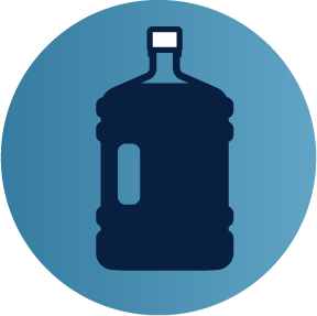 5 gallon water jug icon