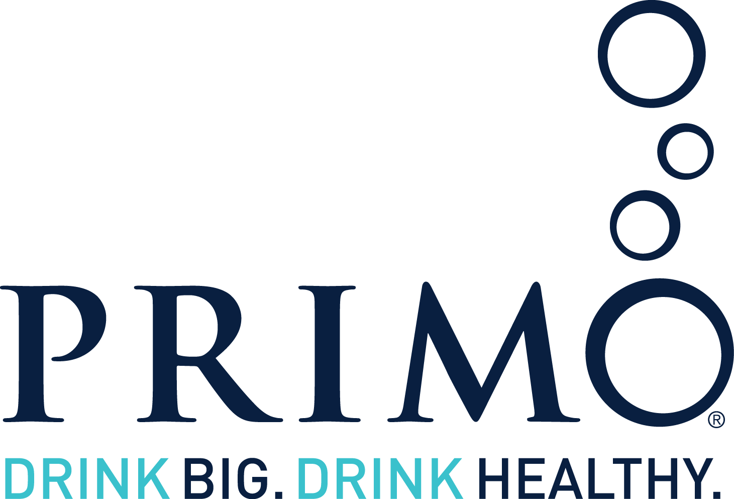 Primo. Drink Big. Drink Healthy.