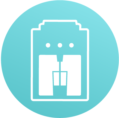 water dispensing icon