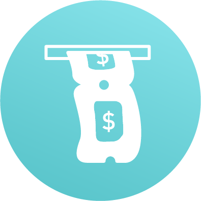 Ticket dispensing icon