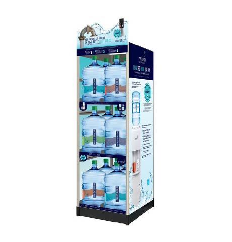 Primo water 18-count display