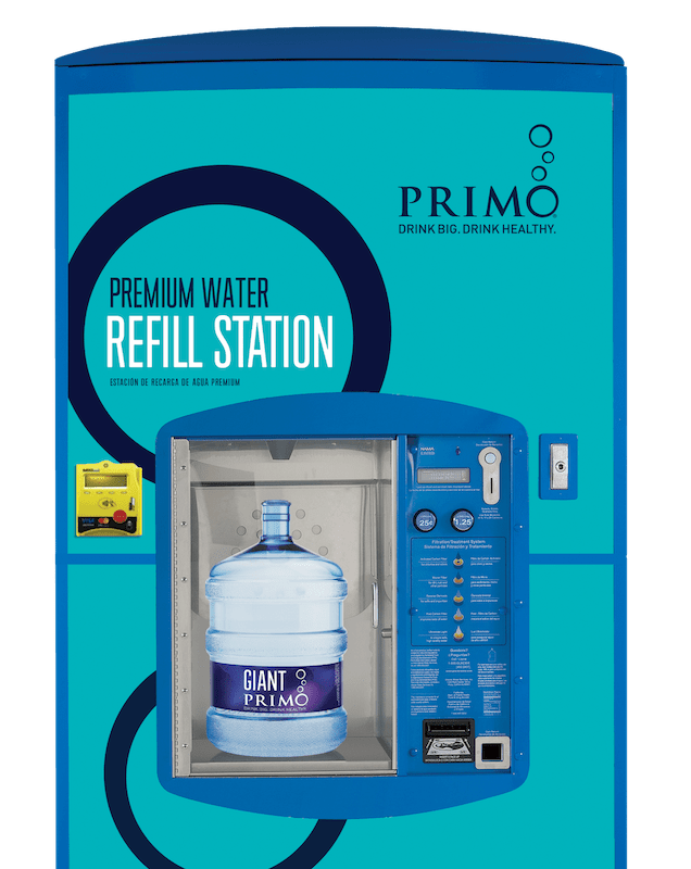 Primo water refill station